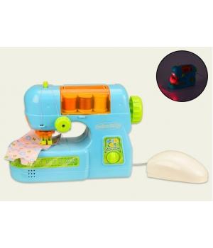 Детская швейная машинка игрушка со светом и звуком (делает строчку)