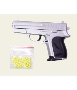 Пистолет на пульках металлический ZM01, CYMA