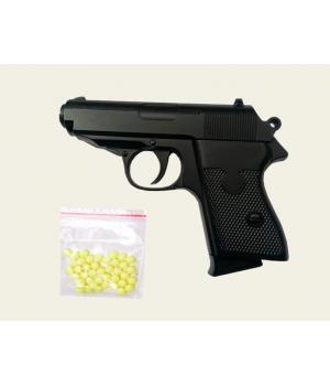 Пистолет на пульках металлический ZM02, CYMA