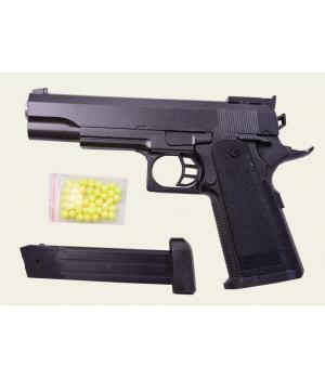 Пистолет на пульках металлический ZM05, CYMA