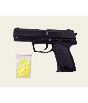 Пистолет на пульках металлический ZM20, CYMA