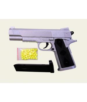 Железный пистолет на пульках (пластиковых), ZM25, CYMA
