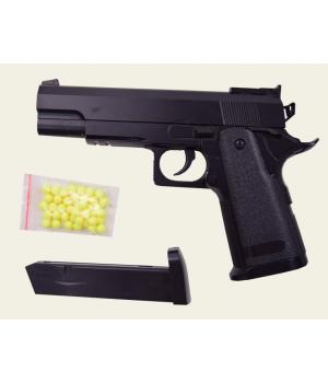 Железный пистолет на пульках (пластиковых), ZM26, CYMA
