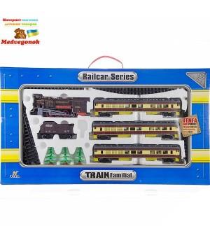 Железная дорога игрушка Пассажирский паровоз Fenfa, от 3 лет