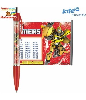 Ручка-шпаргалка шариковая Transformers Kite, от 5 лет
