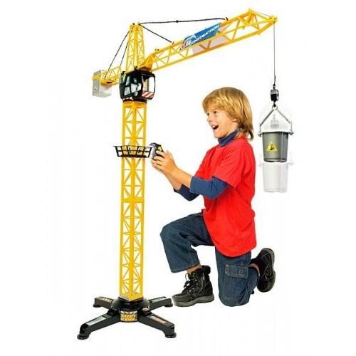 Башенный кран на дистанционном управлении Dickie Toys, 100 см, от 3 лет