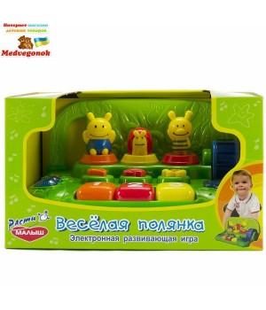 Детская развивающая игрушка Веселая полянка, MOMMY LOVE, от 3 лет
