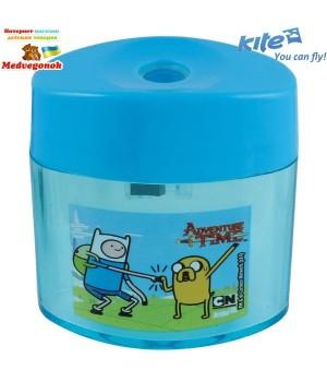Точилка Adventure Time с контейнером пластиковая Kite, от 5 лет