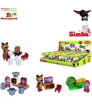 Конструктор Маша и Медведь, стартовые наборы, 4 вида, BIG / Simba, от 18 месяцев
