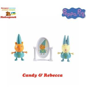 Принцесса Пеппа игрушка набор КЭНДИ И РЕБЕККА Peppa, от 3 лет