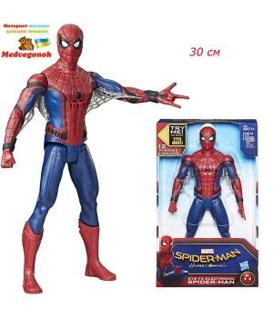 Электронная фигурка человека паука 30 см, Hasbro, от 4 лет