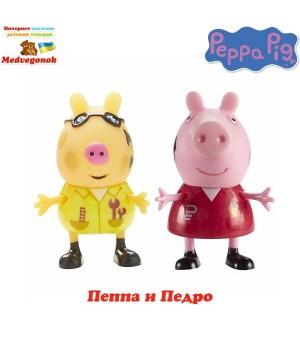 Фигурки Пеппа друзья Пеппа и Педро Peppa, от 3 лет