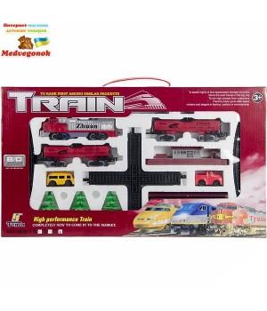 Набор Игрушечный поезд с железной дорогой с перекрестком Fenfa, от 3 лет