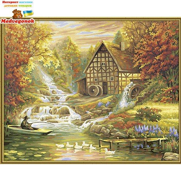 Раскраска Осень золотая. Раскраска по номерам Schipper, от ...