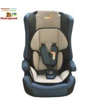 Автокресла 1 2 3 BabyHit. Log's seat синий с серым, от 1 до 12 лет