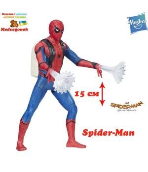 Человек паук возвращение домой фигурки серии Паутинный Город Spider-man со сжимающимися ногами Hasbro, от 4 лет