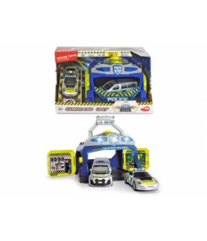 """3715010 Ігровий набір """"Командний пункт поліції"""" з 3 машинами, зі звук. та світл. еф. 3+"""