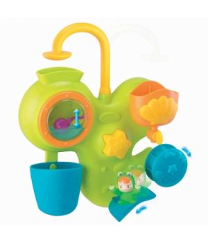 Игрушка для ванной, с бассейном, аквариумом и жабкой, Водные развлечения, Cotoons