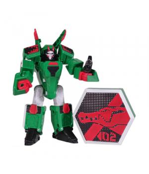 Кайман игрушка Геомеха Мини Крокодил робот трансформер, YoungToys (оригинал)