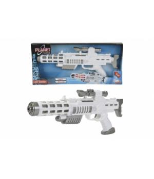 8046945 Світловий бластер-рушниця зі звук. та світл. ефект., 44 см, 3+