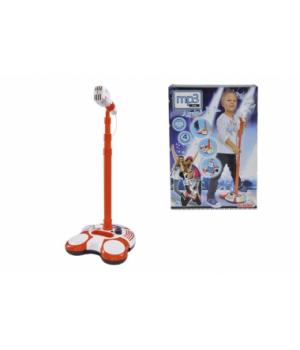 Микрофон на стойке детский, с разъемом для МР3 плеера, свет, 102 см, Simba