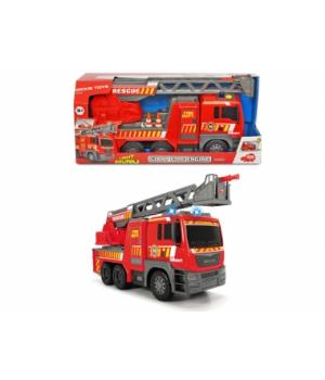 Пожарная машина игрушка для мальчиков «MAN», с лестницей 55-71 см, свет, звук, 54 см, DICKIE TOYS