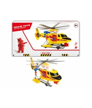 """1137003 Гелікоптер """"Повітряна поліція"""" з ношами,зі звук., та світл., ефектами, 41 см, 3+"""