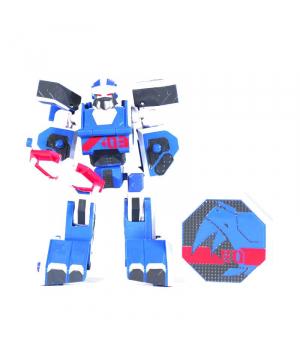 Нешор игрушка Геомеха Мини Носорог робот трансформер, YoungToys (оригинал)