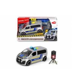 3713010 Автомобіль «SOS. Поліція Сітроен» з радаром, зі звук. та світл. ефектами, 15 см, 3+