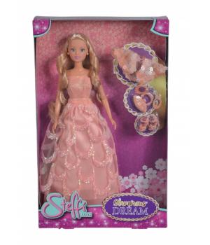 Детская кукла Штеффи в красивом пышном платье, Simba