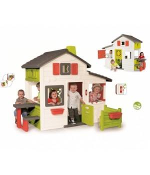 Детский домик для дачи, с крышей, большой ,от 3 лет, Smoby