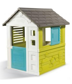 Детский игровой домик пластиковый, для ребенка от 2 лет, Smoby