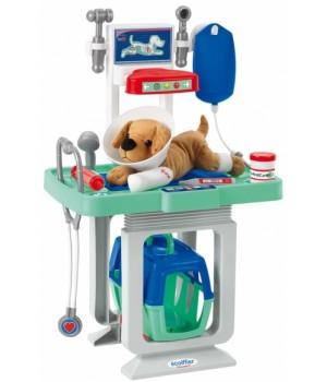 Набор доктора ветеринара с собачкой и столом, Ecoiffier