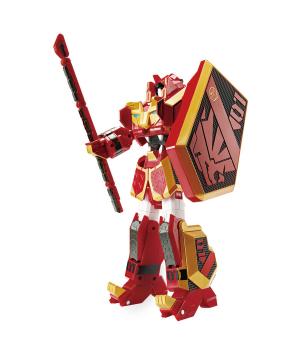 ЛЕ КАН игрушка Геомеха LEO KHAN робот трансформер, YoungToys (оригинал)