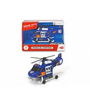 3302016 Гелікоптер «Рятувальний», зі звук. та світл. ефектами, 18 см, 3+
