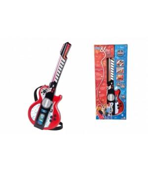 """6838628 Музичний інструмент """"Гітара"""", з роз'ємом для MP3-плеєра, 8 муз. ефектів, 66 см, 6+"""