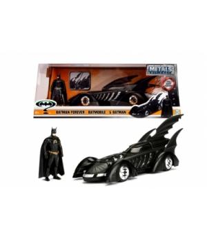 "253215003 Машина металева Jada ""Бетмен назавжди (1995)"" Бетмобіль з фігуркою Бетмена, масштаб 1:24, 8+"
