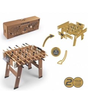 """620700 Футбольний стіл дерев'яний розкладний """"Click&Goal"""", 97 х 94 х 82 см, 8+"""