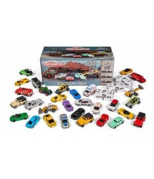 "2058596 Набір машинок металевих Majorette ""Стріт та Преміум"" 30 штук + 3 машини-сюрпризи, 7,5 см, 3+"