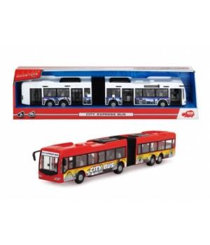 Автобус-гармошка игрушка с открывающимися дверями, Dickie Toys