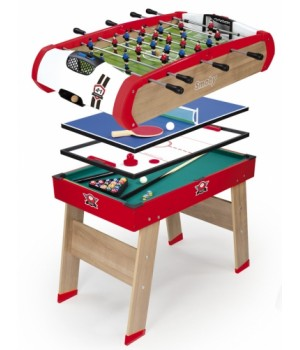 640001 Дерев'яний напівпрофесійний стіл Power Play. 4 в 1, 120 х 90 х 86 см, 8+