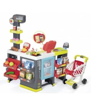 Супермаркет игрушечный, с кассой, тележкой и аксессуарами, Ecoiffier