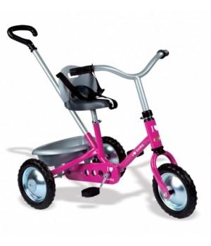 """454016 Дитячий металевий велосипед """"Зукі"""" з багажником, рожевий, 16 міс.+"""