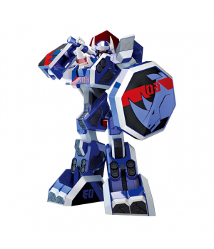 Нешор Геомеха Носорог игрушка NASHORN робот трансформер, YoungToys (оригинал)
