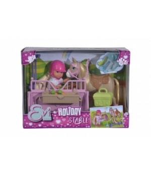 Детская кукла Эви с лошадкой, Simba