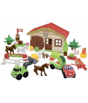 Конструктор ферма с животными, Ecoiffier
