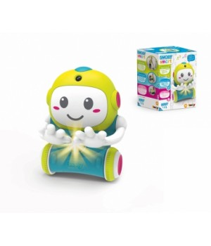 """190101WEB Інтерактивна іграшка """"Смобі Смарт. Робот 1-2-3"""" зі звук. та світл. еф., (4 мови), ВЕБ,18 міс.+"""
