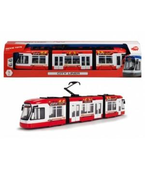 Трамвай игрушечный «Сити Лайнер», 46 см, Dickie Toys