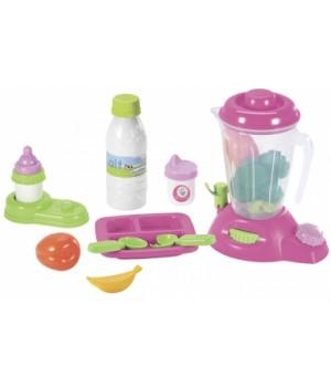 002877 Ігровий набір для годування малюка у кейсі, 12 аксес., 12 міс.+