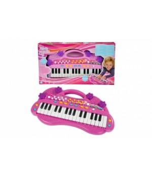 """6830692 Музичний інструмент """"Електросинтезатор. Дівочий стиль"""", 32 клавіші, 6 мелодій, 8 ритмів, 39 см, 4+"""